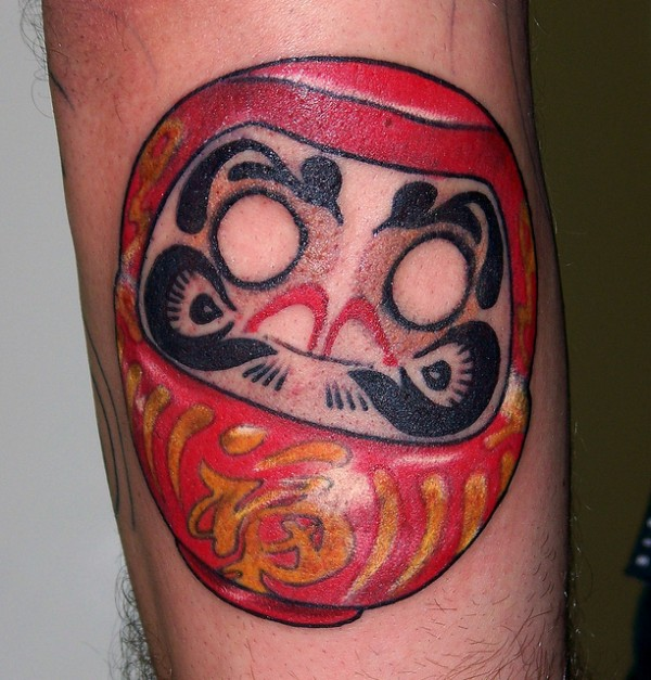 Tatuagens de bonecos de Daruma (52)