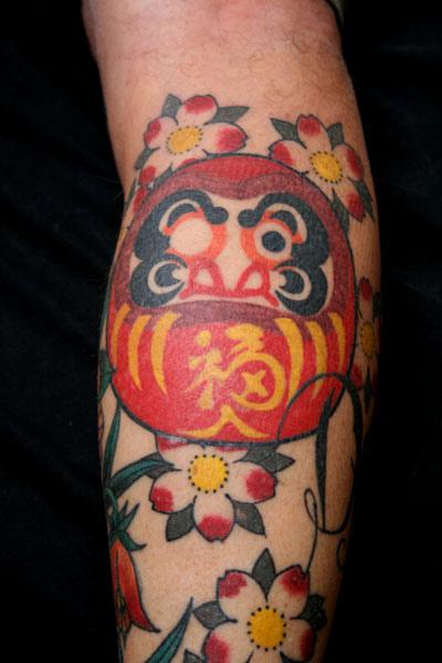 Tatuagens de bonecos de Daruma (50)