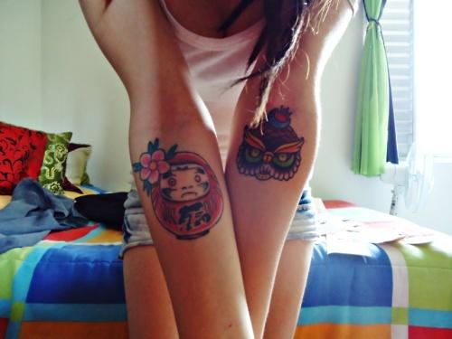 Tatuagens de bonecos de Daruma (43)