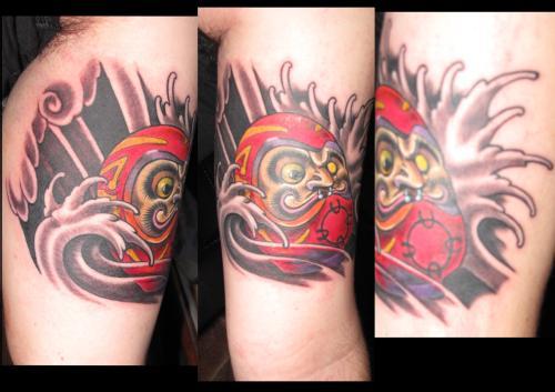 Tatuagens de bonecos de Daruma (32)
