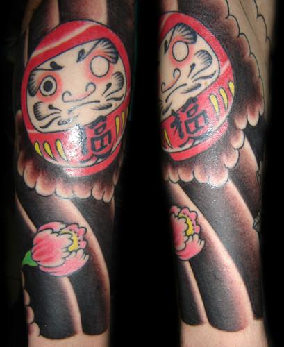 Tatuagens de bonecos de Daruma (23)