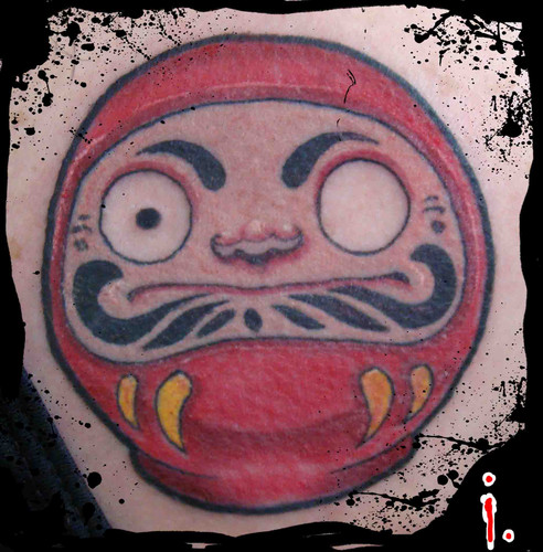 Tatuagens de bonecos de Daruma (22)