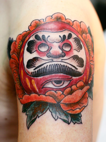 Tatuagens de bonecos de Daruma (21)