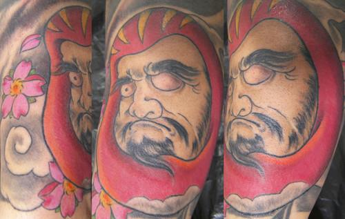 Tatuagens de bonecos de Daruma (20)