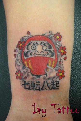 Tatuagens de bonecos de Daruma (17)