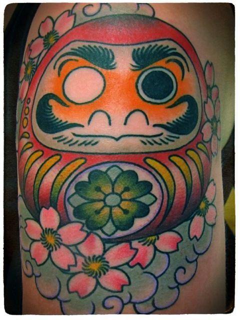 Tatuagens de bonecos de Daruma (14)