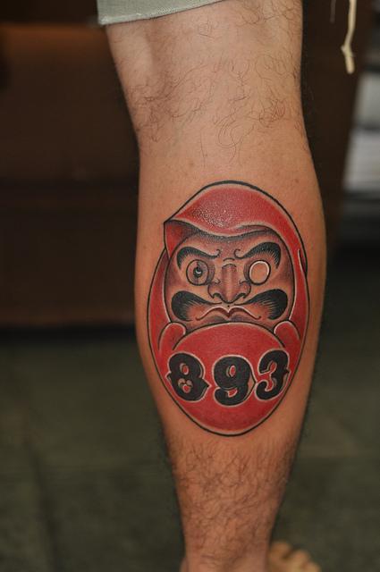 Tatuagens de bonecos de Daruma (12)