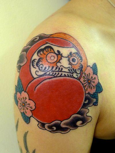 Tatuagens de bonecos de Daruma (11)