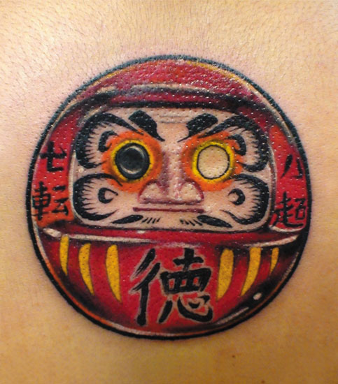 Tatuagens de bonecos de Daruma (7)