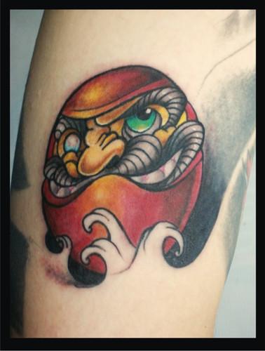 Tatuagens de bonecos de Daruma (5)