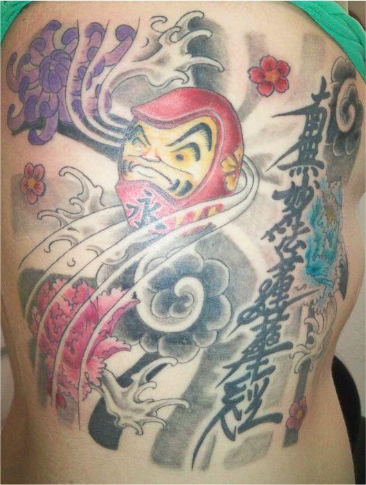 Tatuagens de bonecos de Daruma (2)