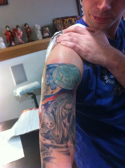 Tatuagens de Final Fantasy (2)