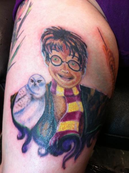 Tatuagens de Harry Potter (10)