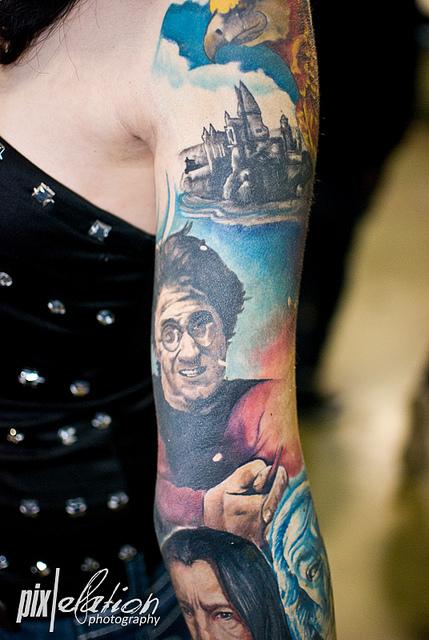 Tatuagens de Harry Potter (5)