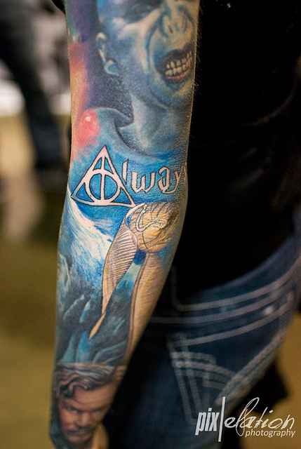 Tatuagens de Harry Potter (4)