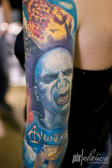 Tatuagens de Harry Potter (3)