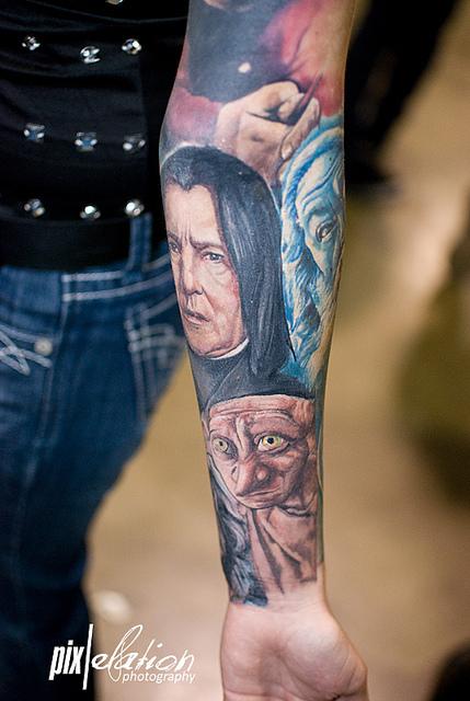 Tatuagens de Harry Potter (2)