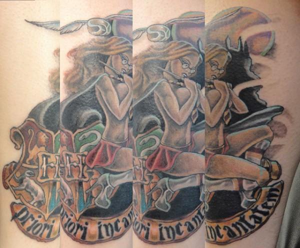 Tatuagens de Harry Potter (1)