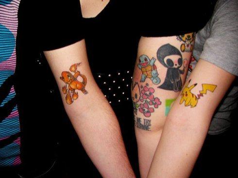 Tatuagens de Pokemon (20)