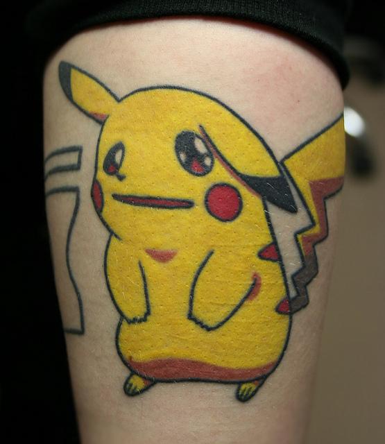 Tatuagens de Pokemon (2)