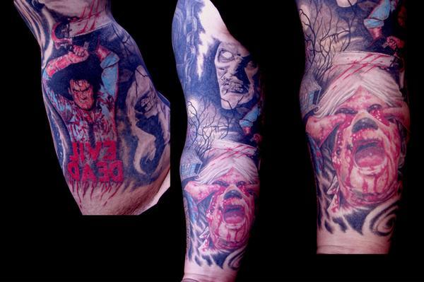 Tatuagens de Evil Dead (3)