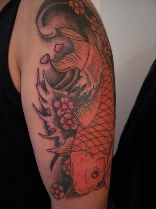 Koi Carp Tattoo (59)