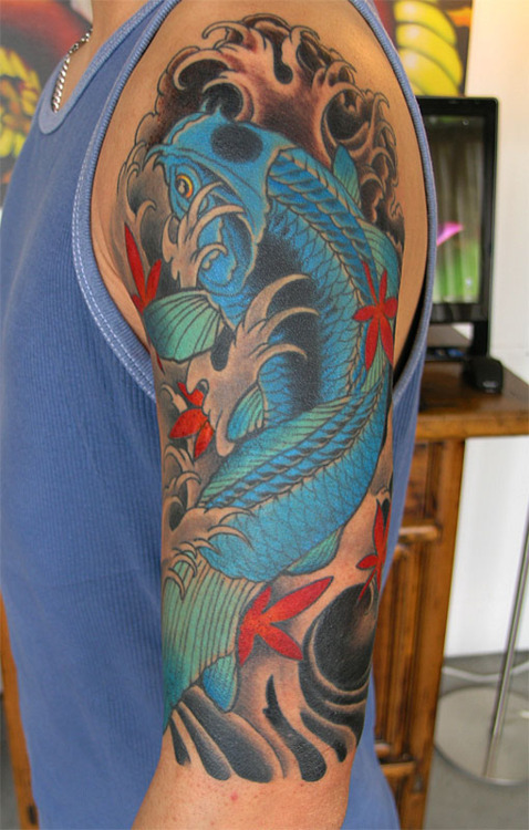 Koi Carp Tattoo (53)