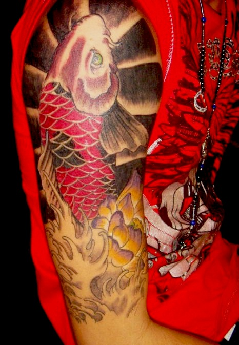 Koi Carp Tattoo (48)