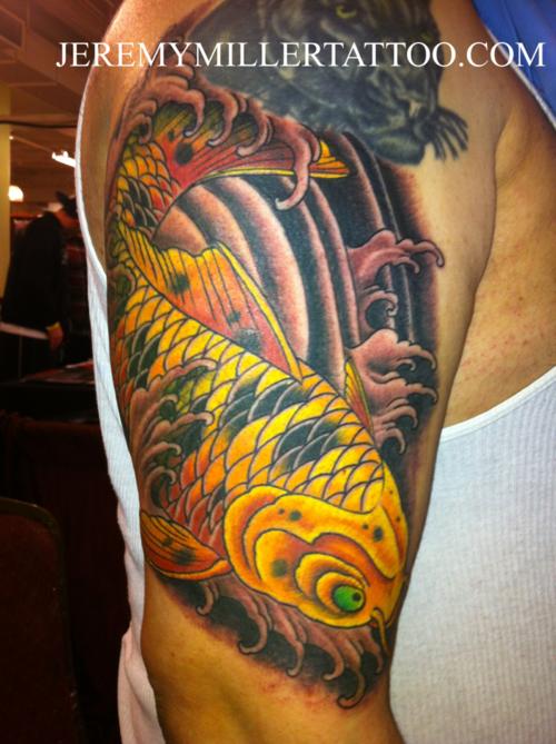 Koi Carp Tattoo (45)