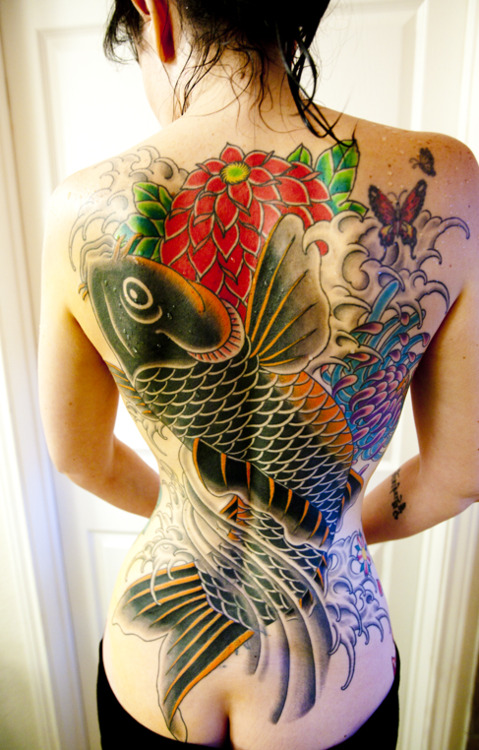 Koi Carp Tattoo (41)