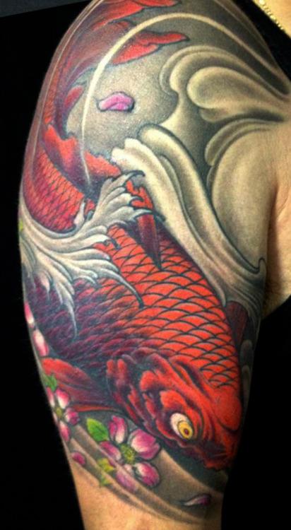 Koi Carp Tattoo (40)