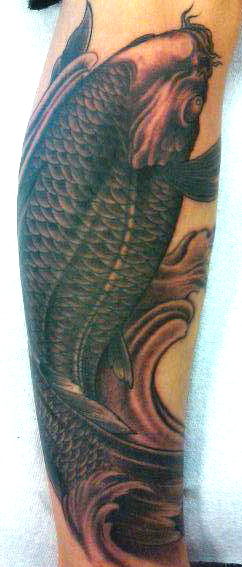 Koi Carp Tattoo (39)