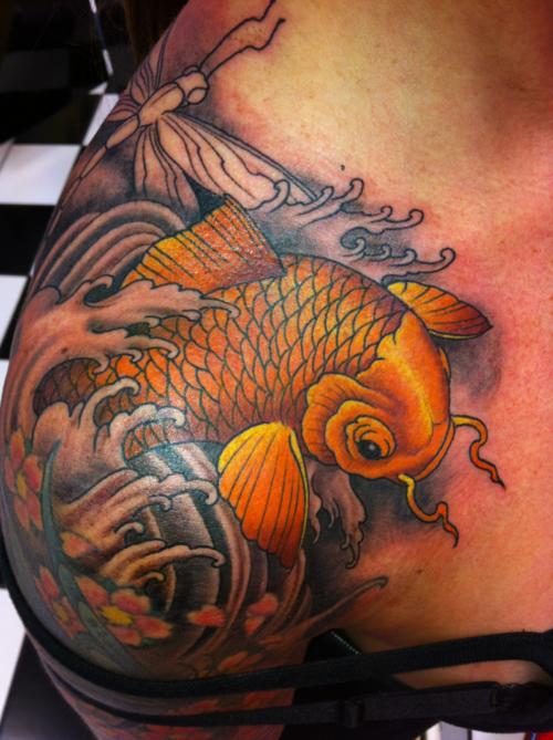 Koi Carp Tattoo (36)