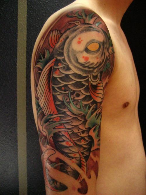 Koi Carp Tattoo (35)