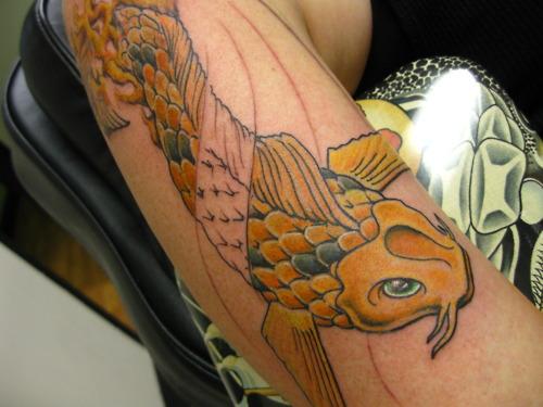 Koi Carp Tattoo (33)