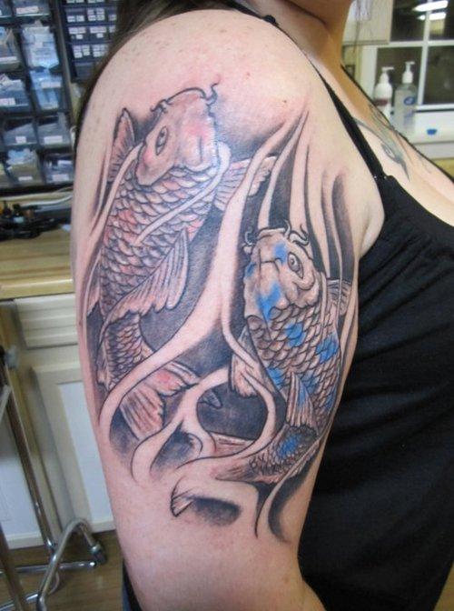 Koi Carp Tattoo (27)