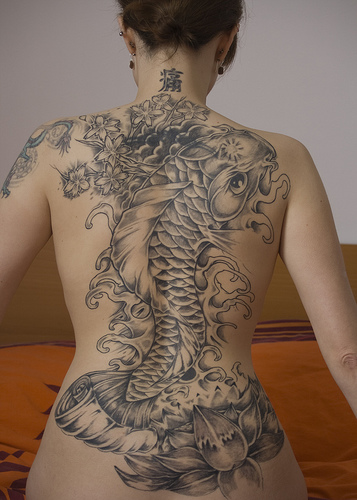Koi Carp Tattoo (25)