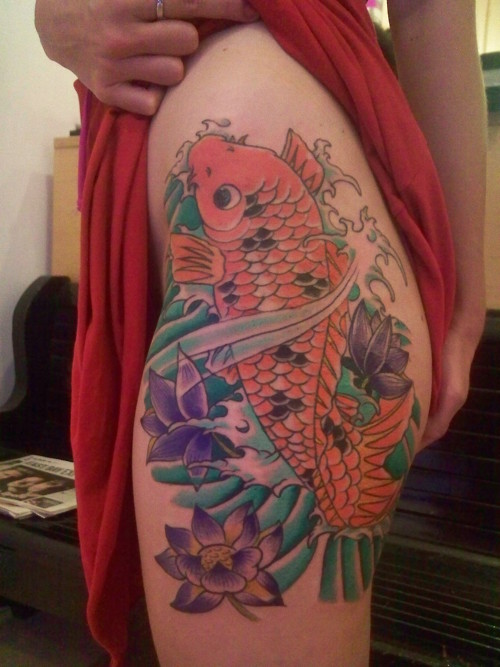 Koi Carp Tattoo (24)