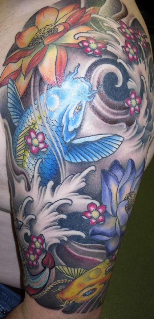 Koi Carp Tattoo (22)