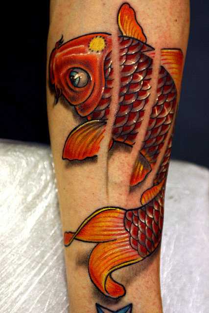 Koi Carp Tattoo (17)