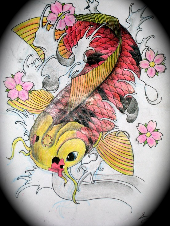 Koi Carp Tattoo (15)