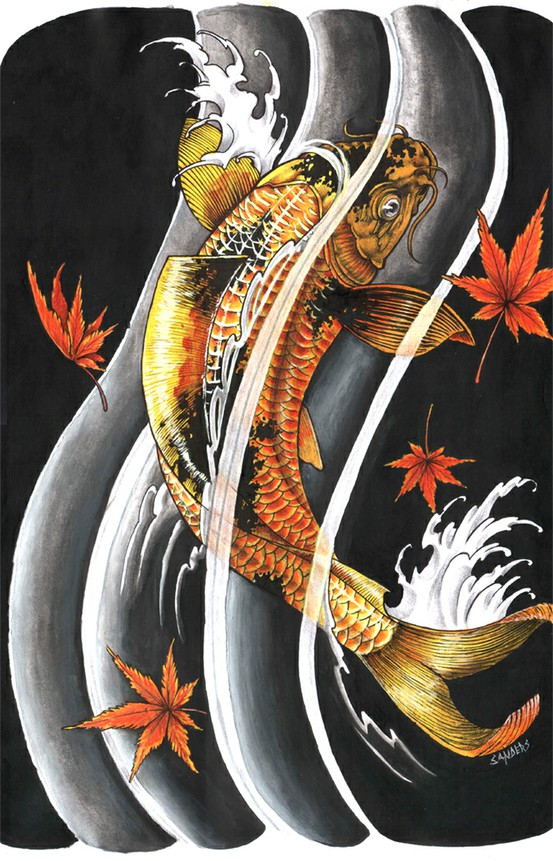 Koi Carp Tattoo (14)