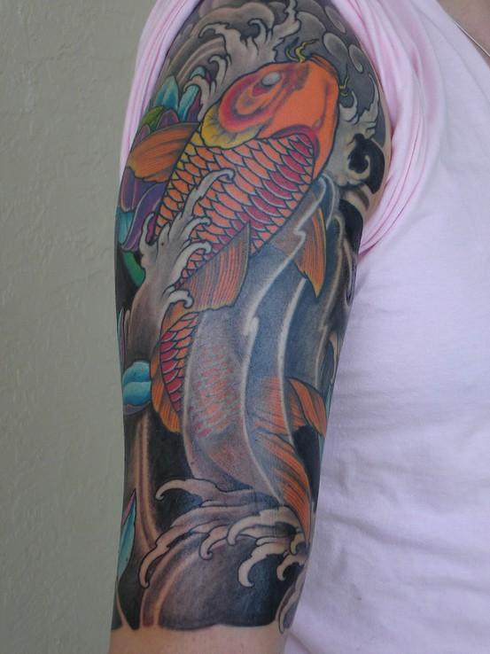 Koi Carp Tattoo (12)