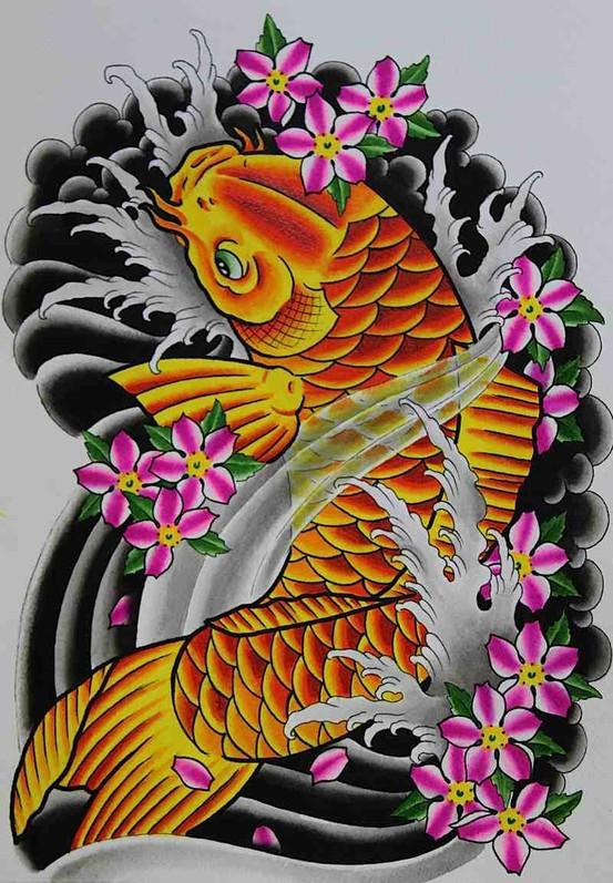 Koi Carp Tattoo (6)