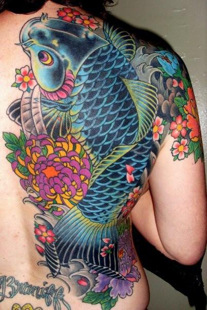 Koi Carp Tattoo (5)