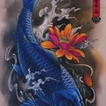 Semana Oriental: 60 Tatuagens de Carpas