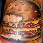 50 Tatuagens de comida