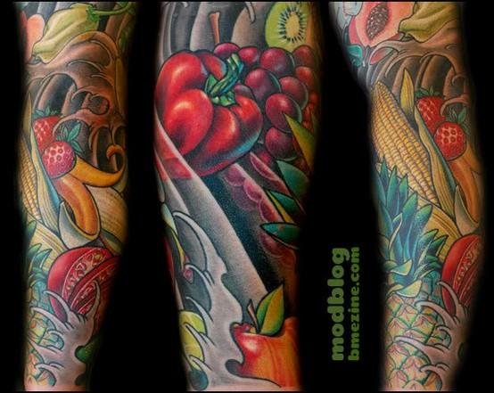Tatuagem de comida (30)