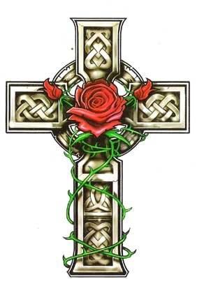 Tatuagens de cruzes e símbolos cristãos (54)