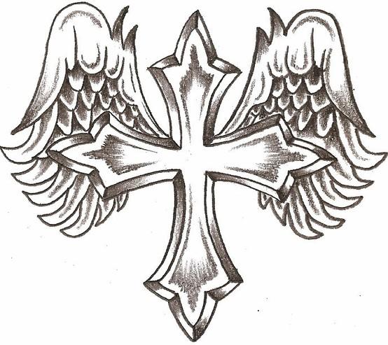Tatuagens de cruzes e símbolos cristãos (50)